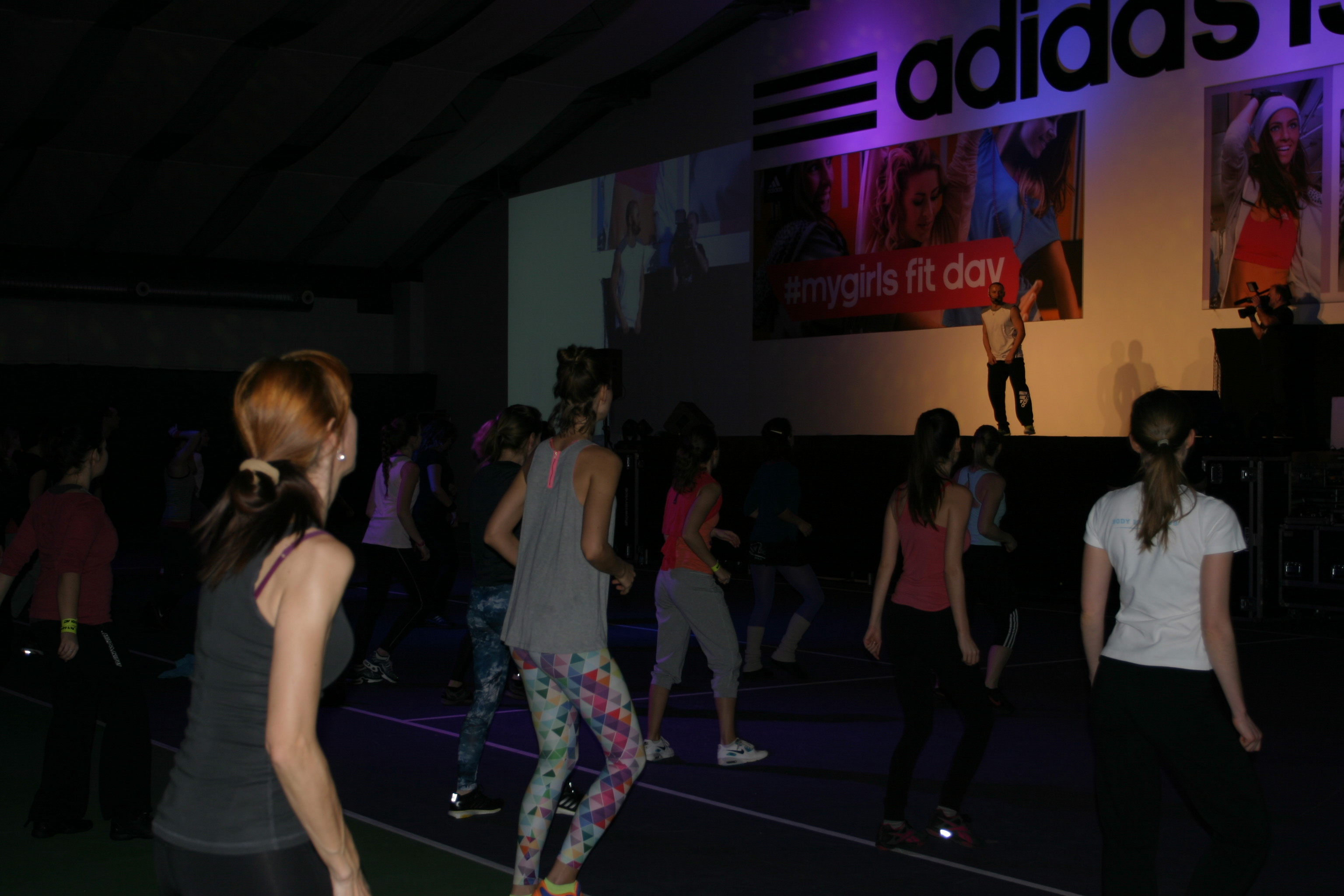 adidas mygirlsday event milan